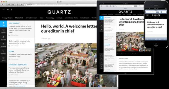 quartz-responsive