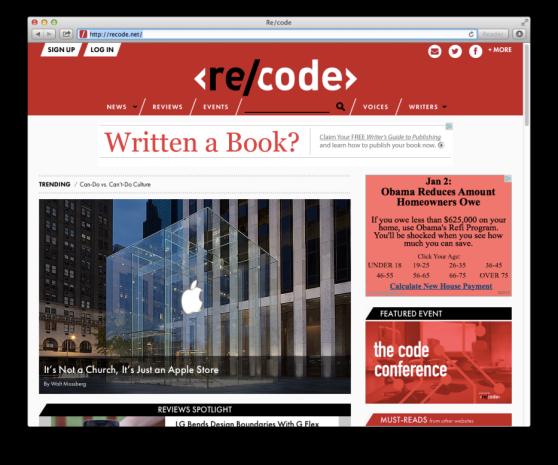 launch-recode