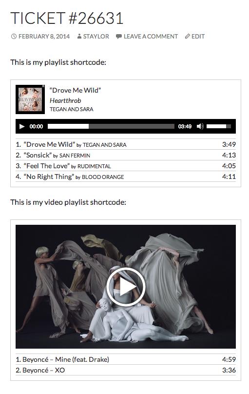 wp-playlists